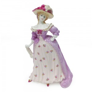 Mrs. Fitzherbert - Coalport Figure
