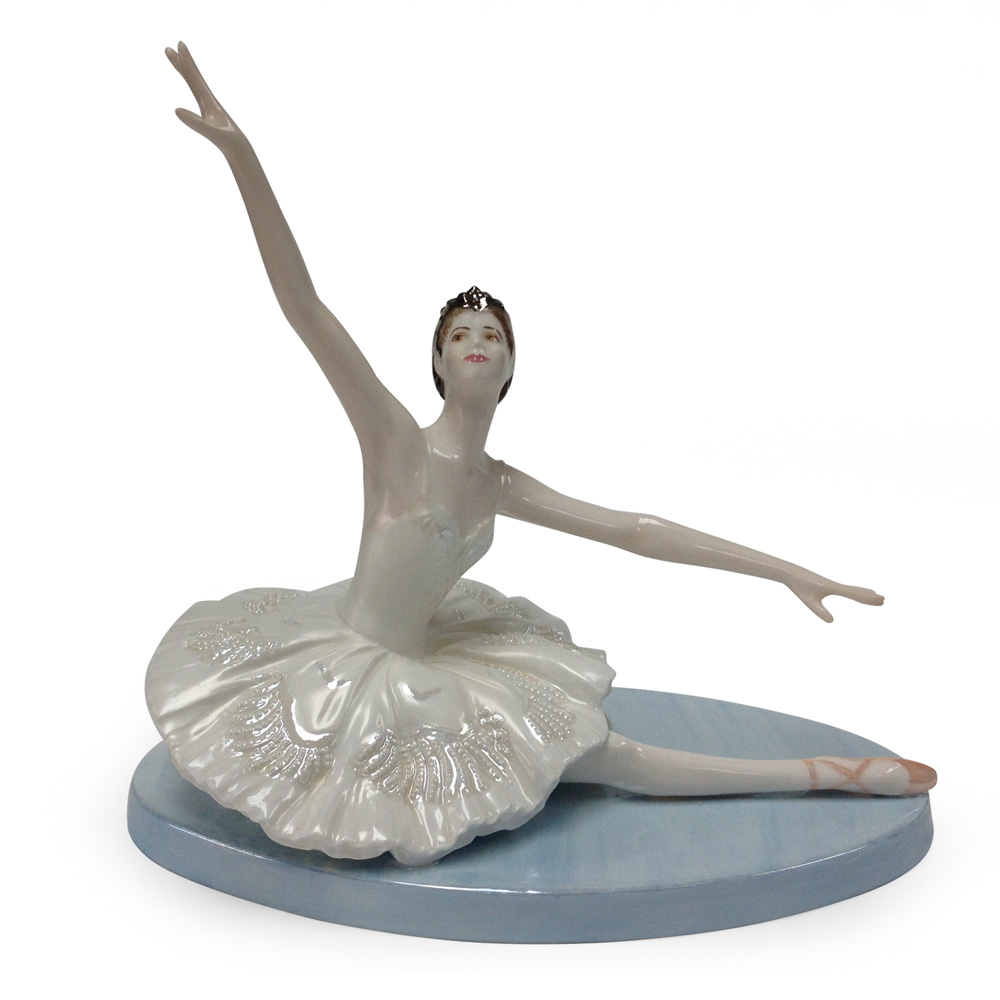 Odette The White Swan - Coalport Figure