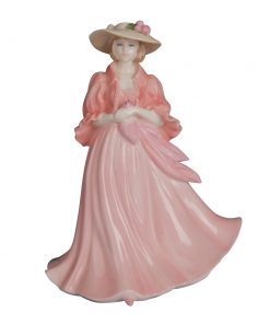 Woman in Pink - Coalport Figurine