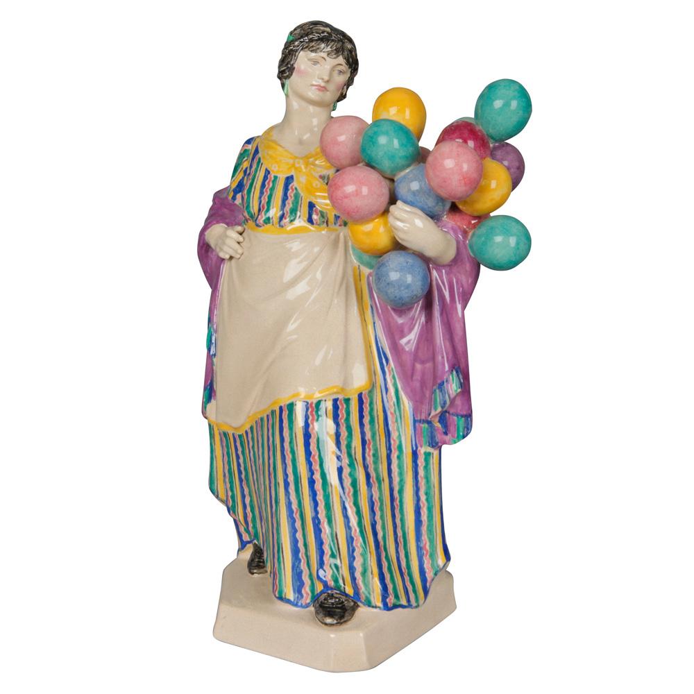 Balloon Woman - Charles Vyse - Charles Vyse Figurine