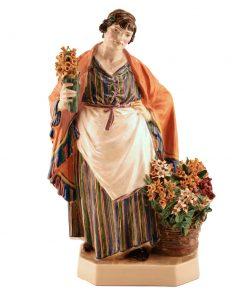 Daffodil Woman - Charles Vyse c.1925 - Charles Vyse Figurine