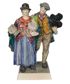 The Gypsies - Charles Vyse Figure - Charles Vyse Figurine