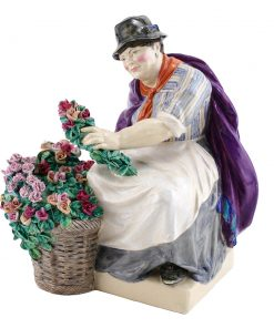 The Piccadilly Rose Woman c.1922 - Charles Vyse - Charles Vyse Figurine
