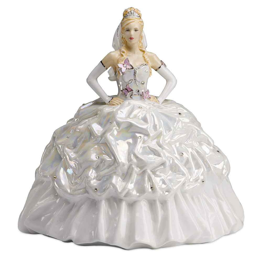 Gypsy Bride Butterflies - Blonde - Compton & Woodhouse Prestige Collectables