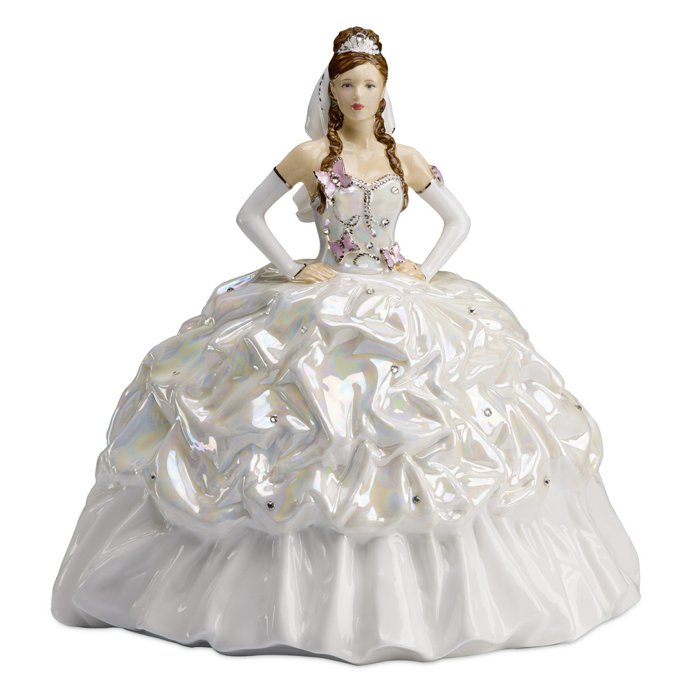 Gypsy Bride Butterflies - Brunette - Compton & Woodhouse Prestige Collectables