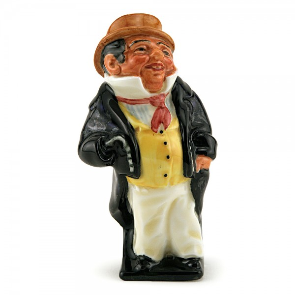 Captain Cuttle M77 (First Version) - Royal Doulton Dickens Figurine