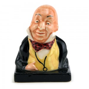 Mr. Micawber (Bust) - Royal Doulton Dickens Figurine