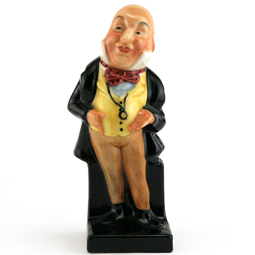 Mr. Micawber M42 (First Version) - Royal Doulton Dickens Figurine