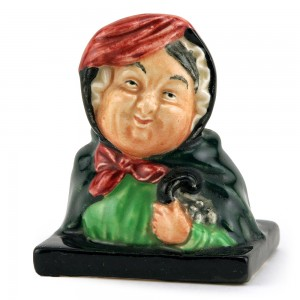 Sairey Gamp (Bust) - Royal Doulton Dickens Figurine