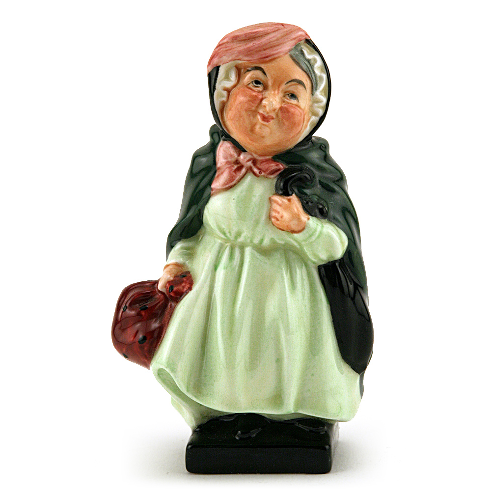Sairey Gamp M46 (First Version) - Royal Doulton Dickens Figurine
