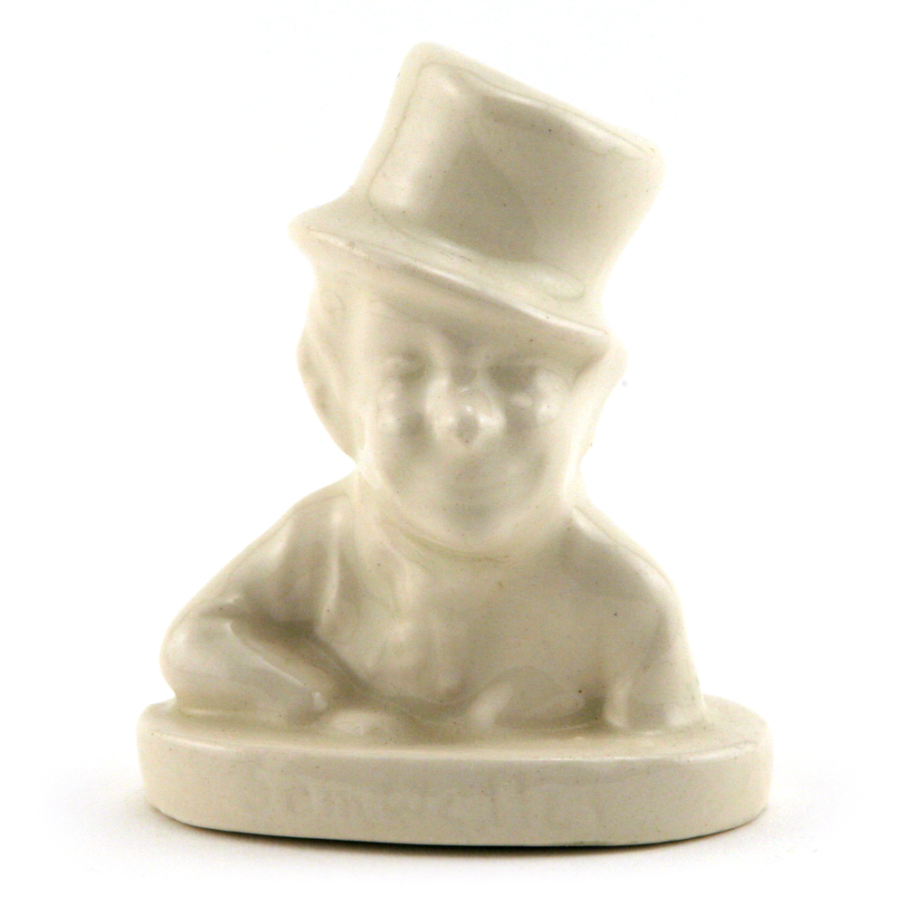 Sam Weller (Bust, White) - Royal Doulton Dickens Figurine