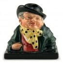 Tony Weller (Bust) - Royal Doulton Dickens Figurine