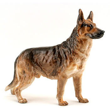 Alsatian HN1115 - Royal Doulton Dogs