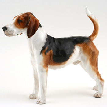 American Foxhound HN2525 - Royal Doulton Dogs