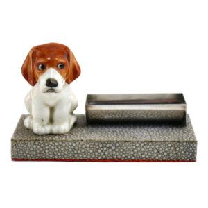 Beagle Puppy HN831 on Base - Royal Doulton Dogs