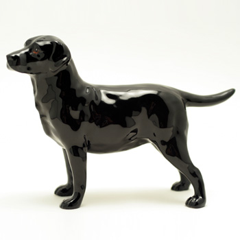 Black Labrador HN2667 - Royal Doulton Dogs