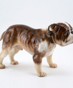 Bulldog Standing HN1045 - Royal Doulton Dogs