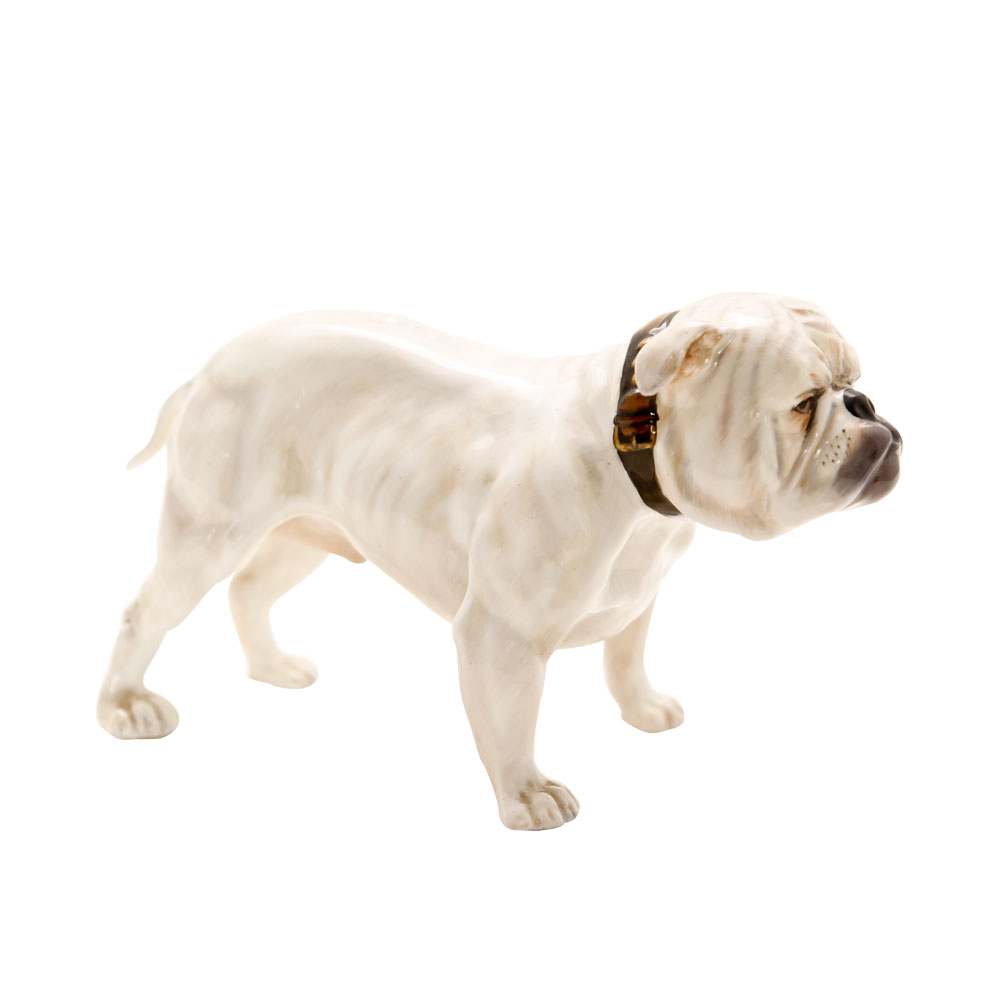 Bulldog White HN1073 - Royal Doulton Dogs