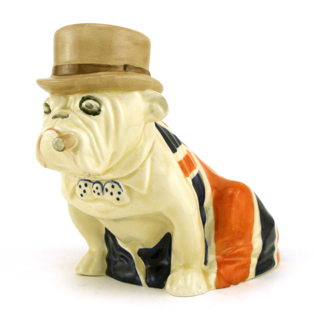 Bulldog D6179 - Royal Doulton Dogs