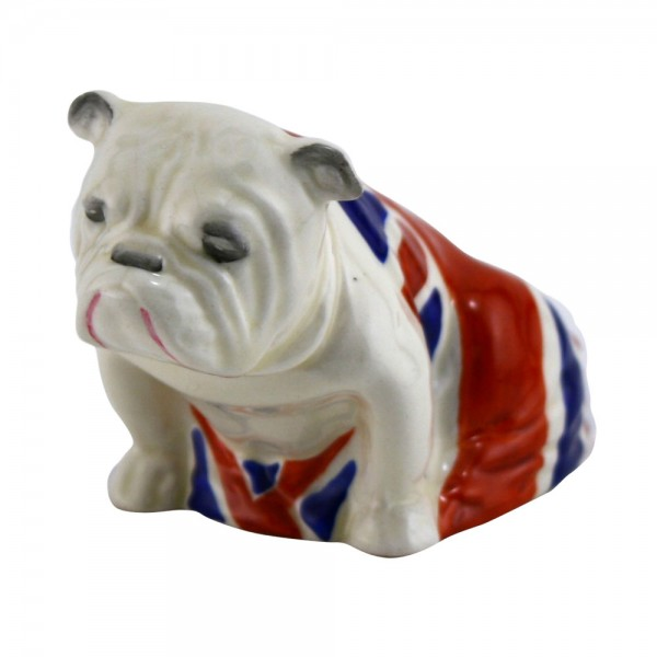 Bulldog Union Jack Small - Royal Doulton Dogs