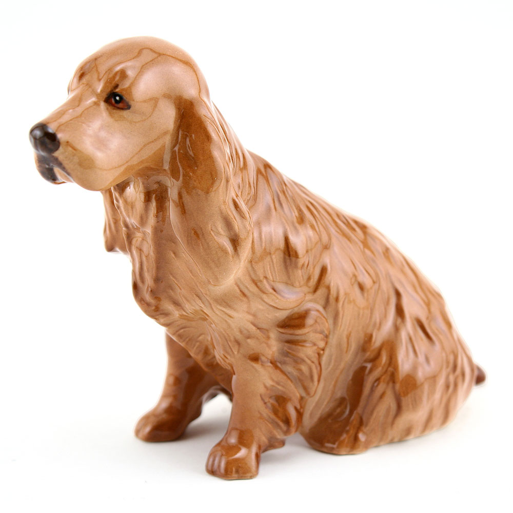 Cocker Spaniel Seated DA141 - Royal Doulton Dogs