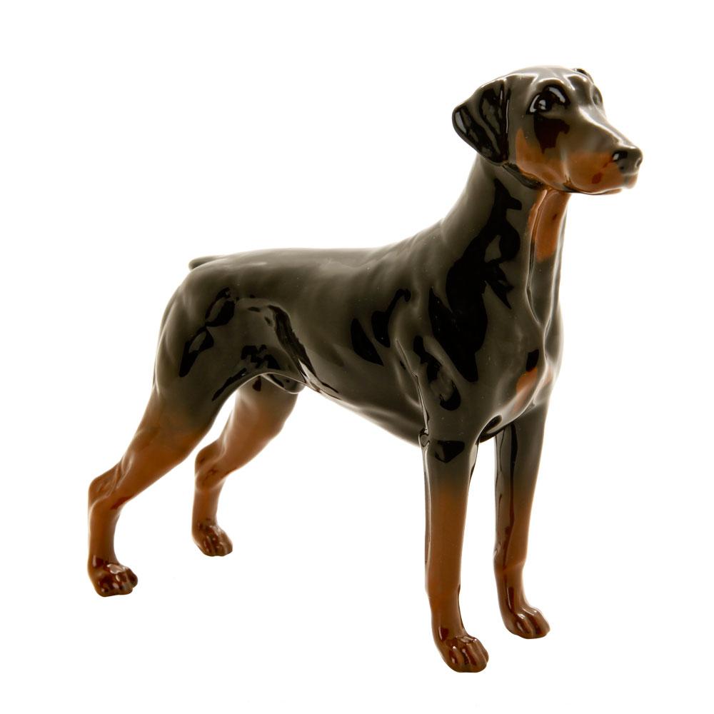 Doberman DA105 - Royal Doulton Dogs