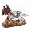 English Setter with Pheasant HN2529 - Royal Doulton Dogs