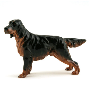 Gordon Setter HN1081 - Royal Doulton Dogs