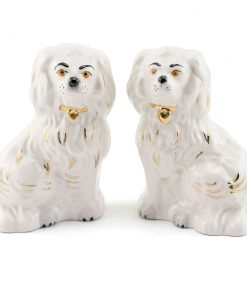 Old English Dog Pair DA97,DA98 - Royal Doulton Dogs
