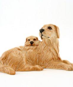 Retriever and Pups DA173 - Royal Doulton Dogs