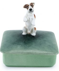 Sealyham Begging Lidded Box - Royal Doulton Dogs