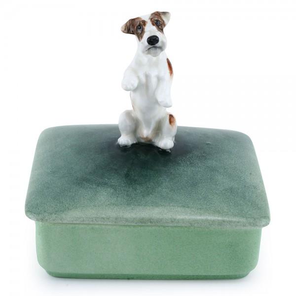 Sealyham Begging Lidded Box - Royal Doulton Dogs