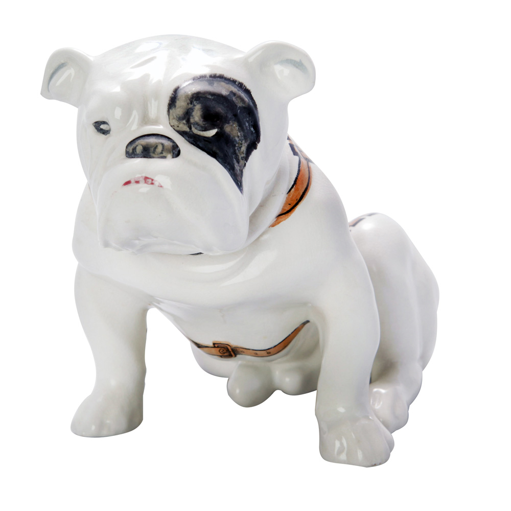 Guinness Bulldog Seated (Brown Sign on Back) - Royal Doulton Dog