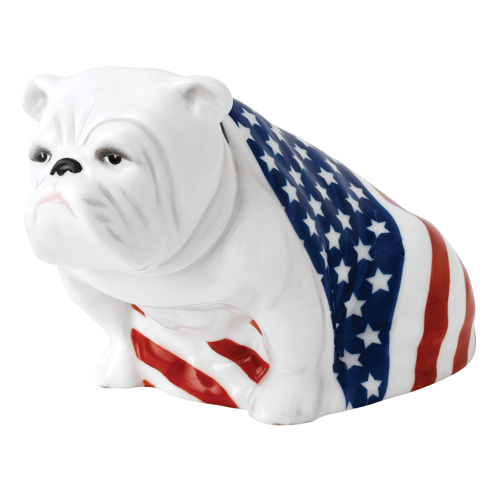 USA Bulldog - Sam (DD004) - Royal Doulton Dog
