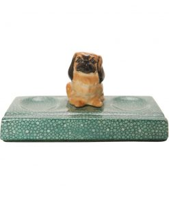 Pekinese K6 on Green Base - Royal Doulton Dogs