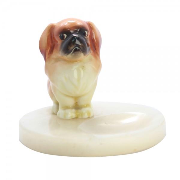 Pekinese Puppy on Base HN832 - Royal Doulton Dog