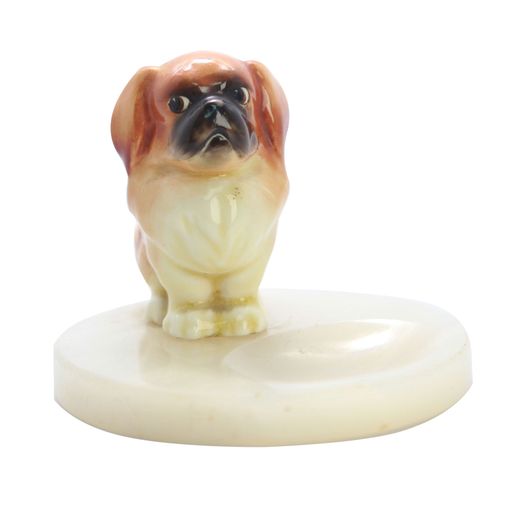 Pekinese Puppy on Base HN832 - Royal Doulton Dog