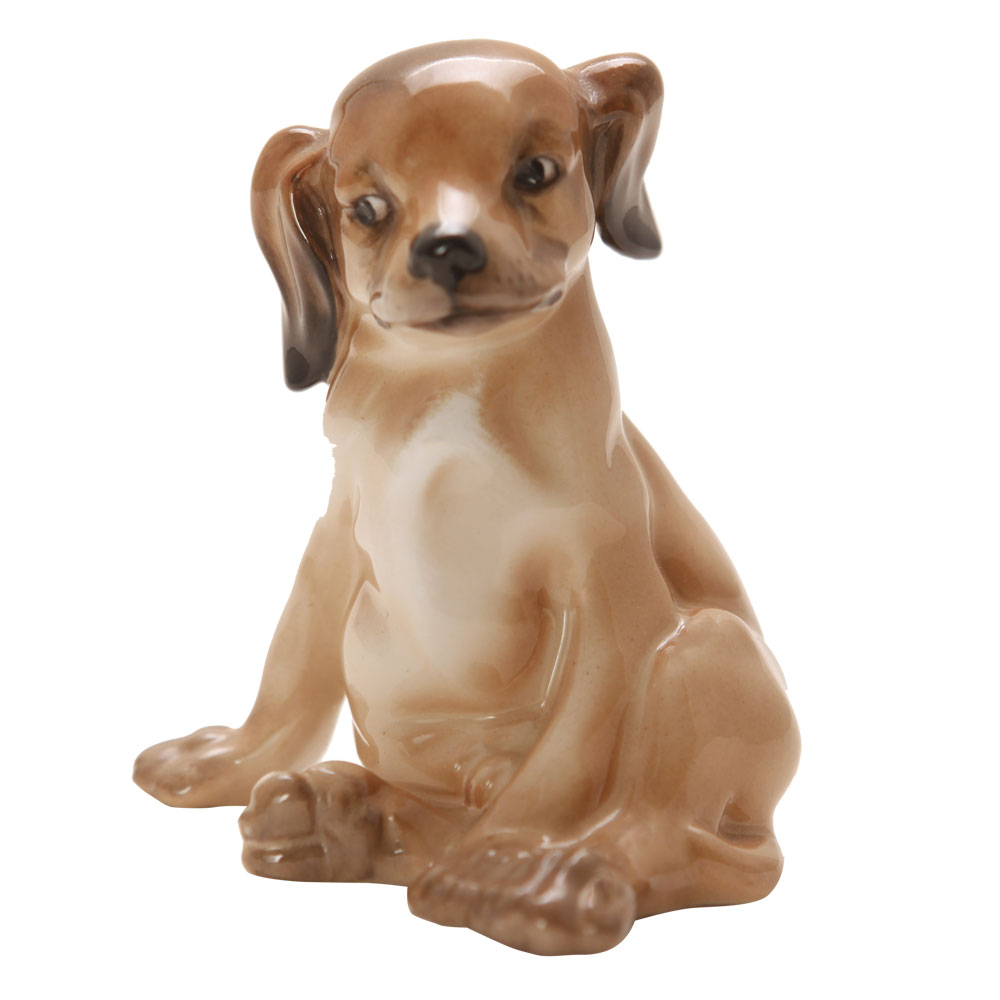 Puppy Seated HN128 - Royal Doulton Dogs