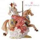 All the Fun of the Fair - The English Ladies Company Figurine