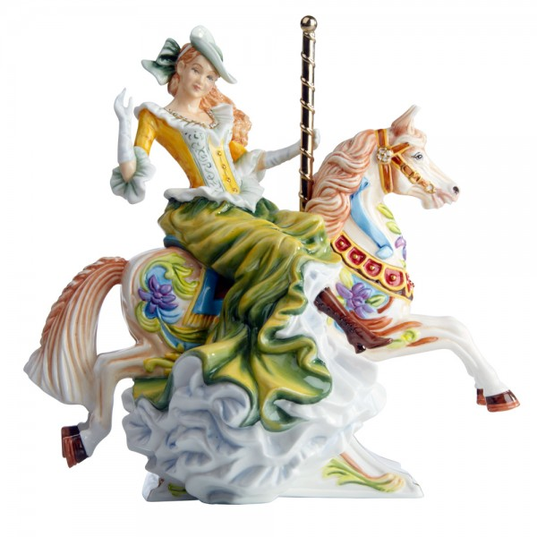 All The Fun of The Fair - Gold Colorway (From the Carousel Collection) - English Ladies Company Figurine