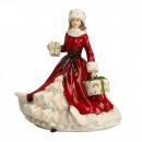 All Wrapped Up - All Red - English Ladies Company Figurine