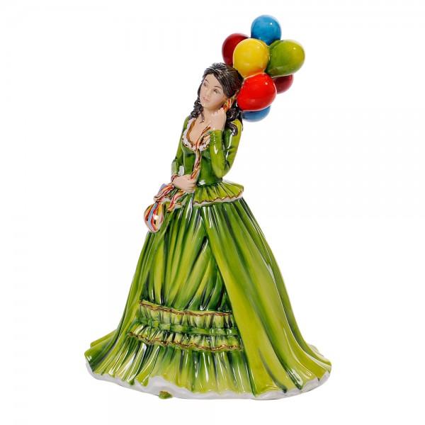 The Balloon Seller - English Ladies Company Figurine