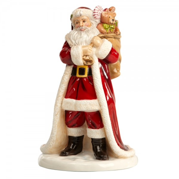Father Christmas - English Ladies Company Figurine
