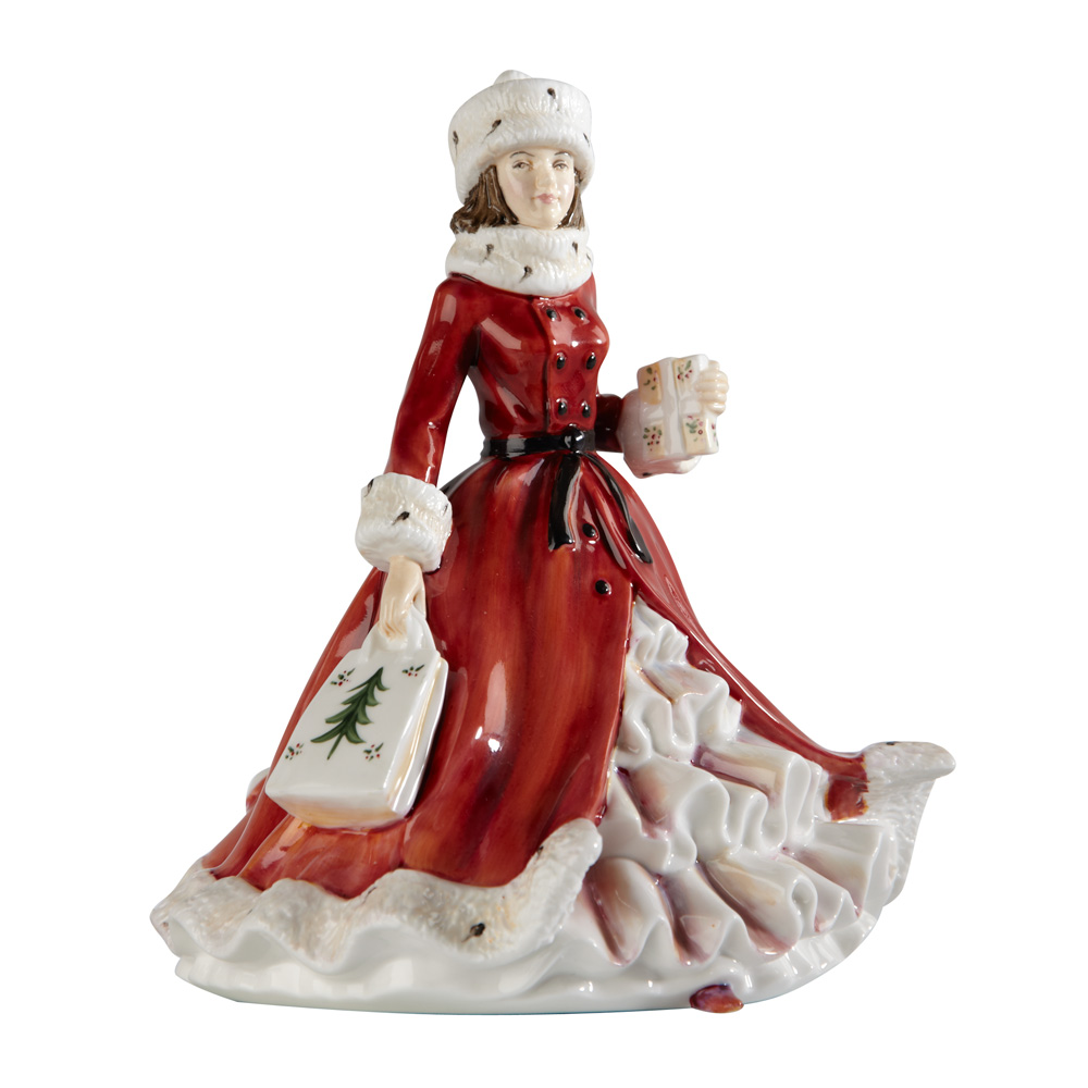 Festive Wishes - Petite - English Ladies Company Figurine