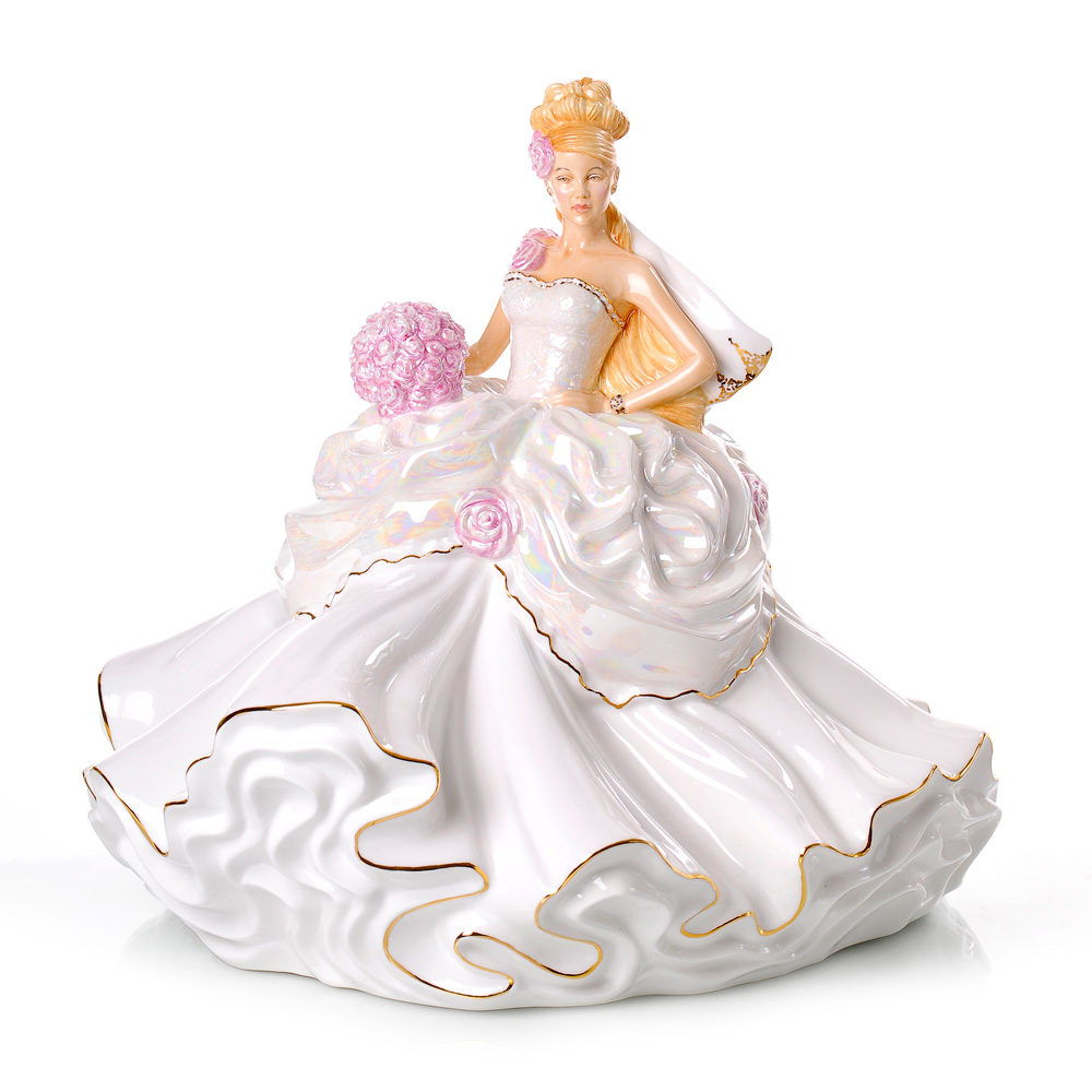 Gypsy Wedding Dreams Bride - Blonde - English Ladies Company Figurine