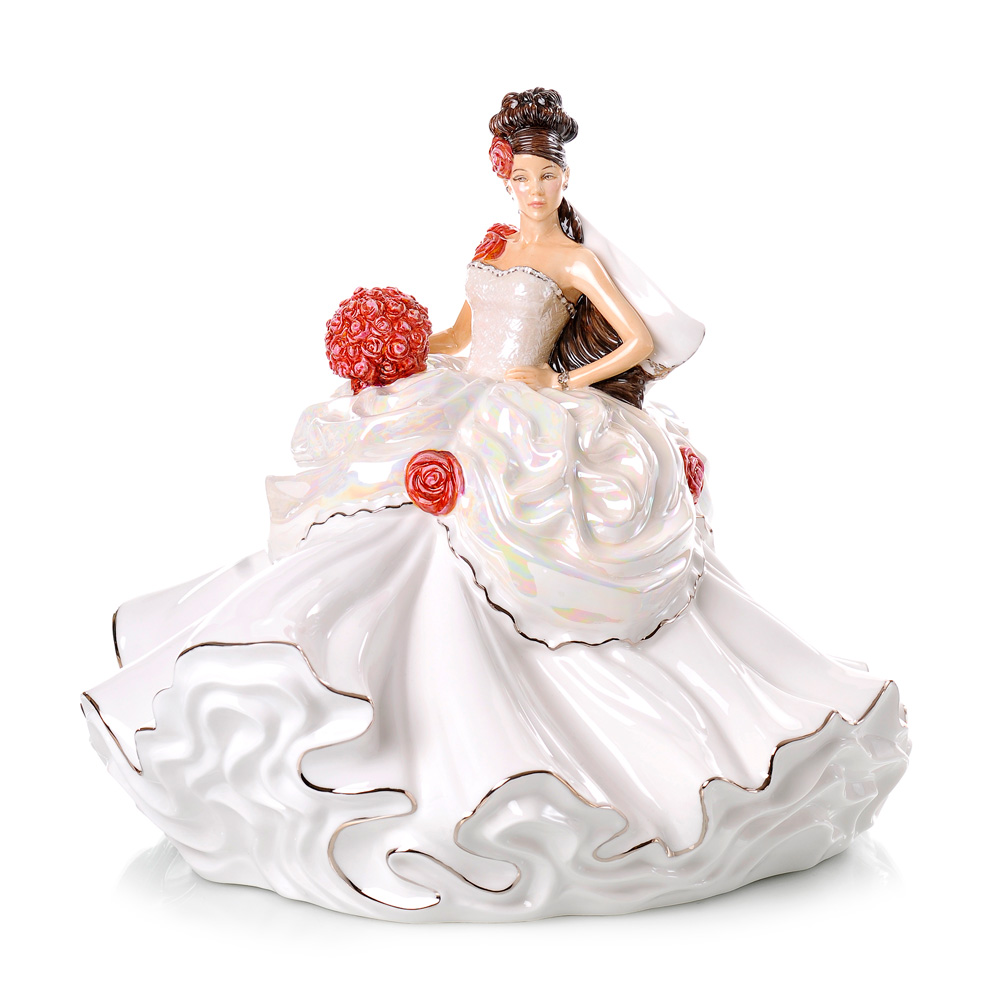 Gypsy Wedding Dreams Bride - Brunette - English Ladies Company Figurine