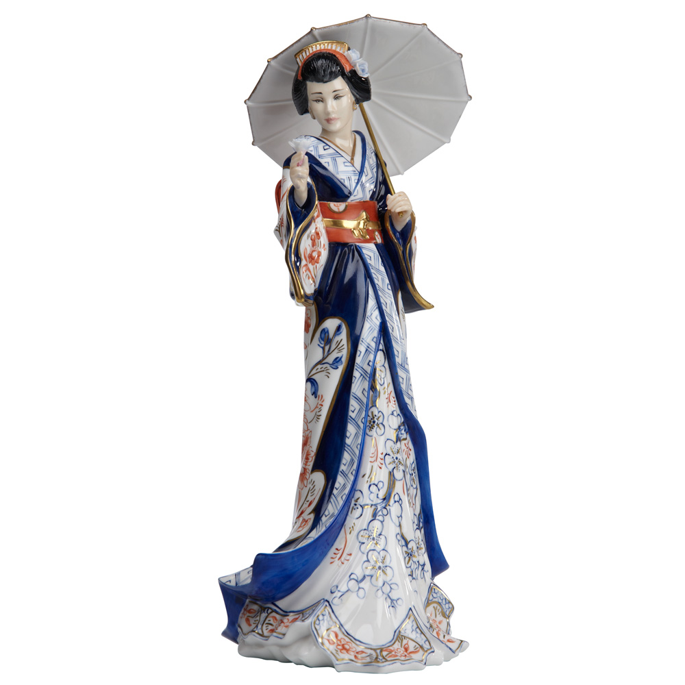 Lady Imari (Japanese Lady) - English Ladies Company Figurine