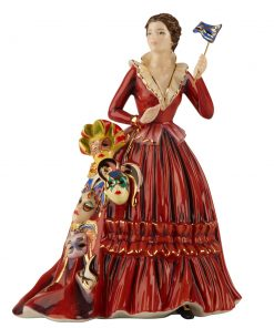 Mask Seller - The English Ladies Company Figurine