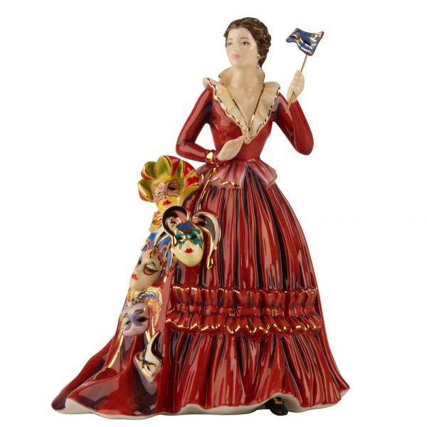 Mask Seller - The English Ladies Company Figurine