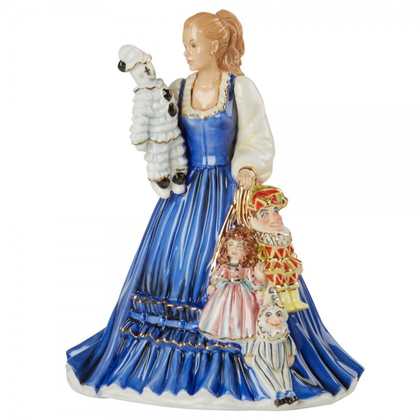 The Puppeteer  - English Ladies Company Figurine